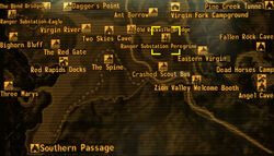 Ranger Substation Peregrine loc