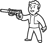 Silenced 10mm pistol icon.png