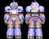 CC-00 power armor ArcJet Systems paint