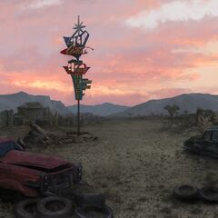 Wasteland concept art