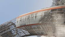 FO76 Crashed space ship vessel name