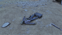 FO76 New Gad skeleton scene 2