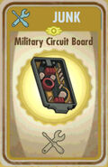 FoS Military circuit board Card
