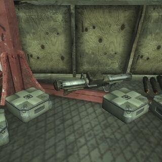 Сховище контрабандистів на маяку