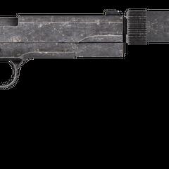 Пістолет кал. 45 Авто c встановленим глушником