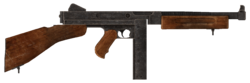 .45 Auto submachine gun