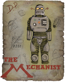 AUT Drawing of the Mechanist