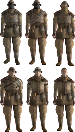 FNV Trooper Outfits NCR