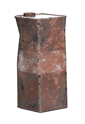 FO76 Crushed rusty canister