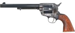 FO76 Single action revolver