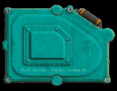 Flux sensor back