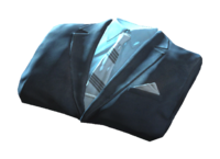 Fo4 clean blue suit