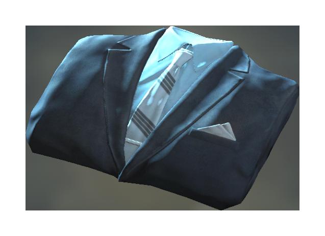 Fo4 clean blue suit