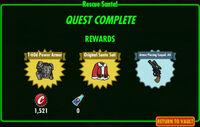 FoS Rescue Santa! rewards