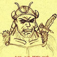 Garl, leader of the Khans