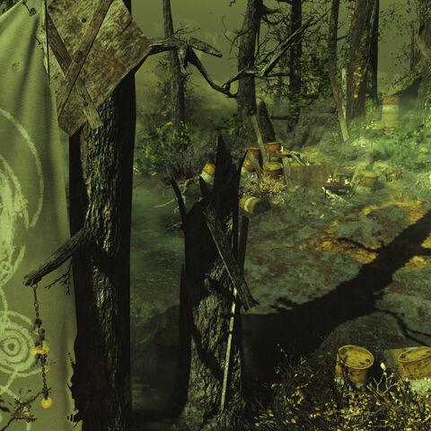Святилище під час радіоактивного вибросу