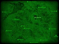 FO4 Карьер Тикет (карта мира)