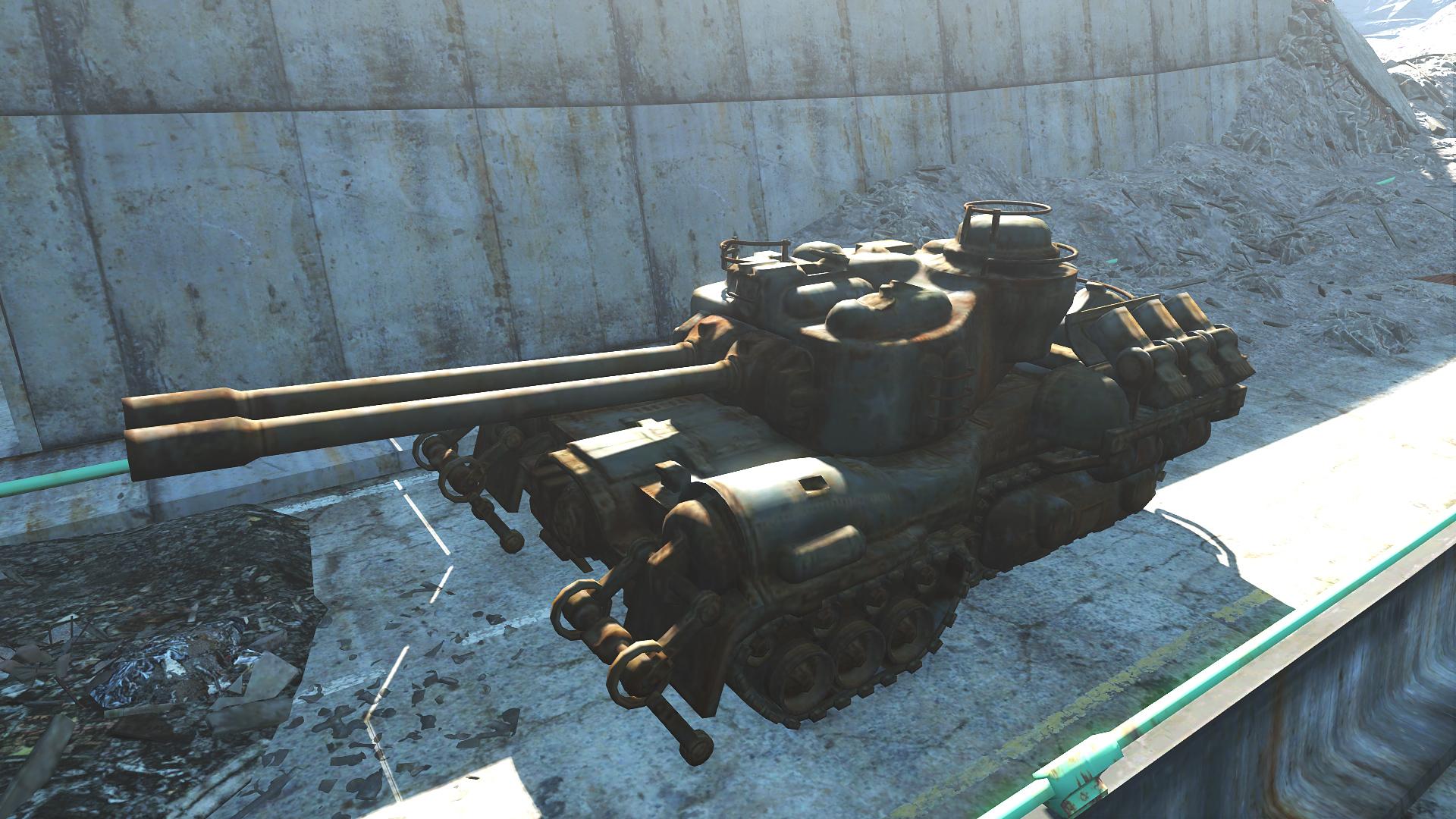 FO4 Freeway Pileup (Tank)