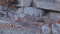 FO76 The Freak Show pumpkin patch