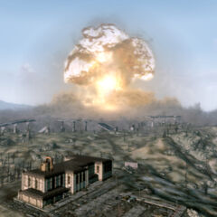 The nuclear destruction of Megaton