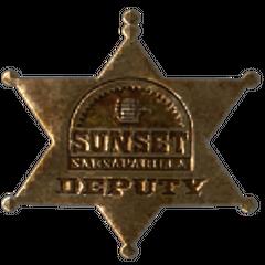 Значок «Сансет Сарсапарілла»