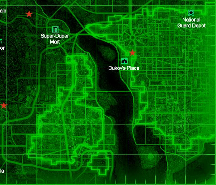 Fallout 3 Dc Map | autobedrijfmaatje
