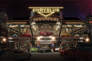 FM Chryslus Dealership Night