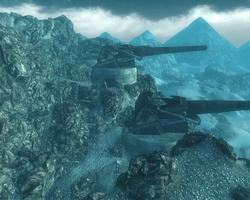 FO3 Artillery Overlook panoramic view