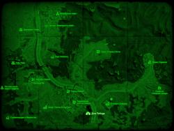 FO4 Дом Пибоди (карта мира)
