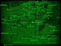 FO4 Станция «Медцентр» (карта мира)