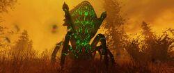 FO76 Glowing mirelurk queen