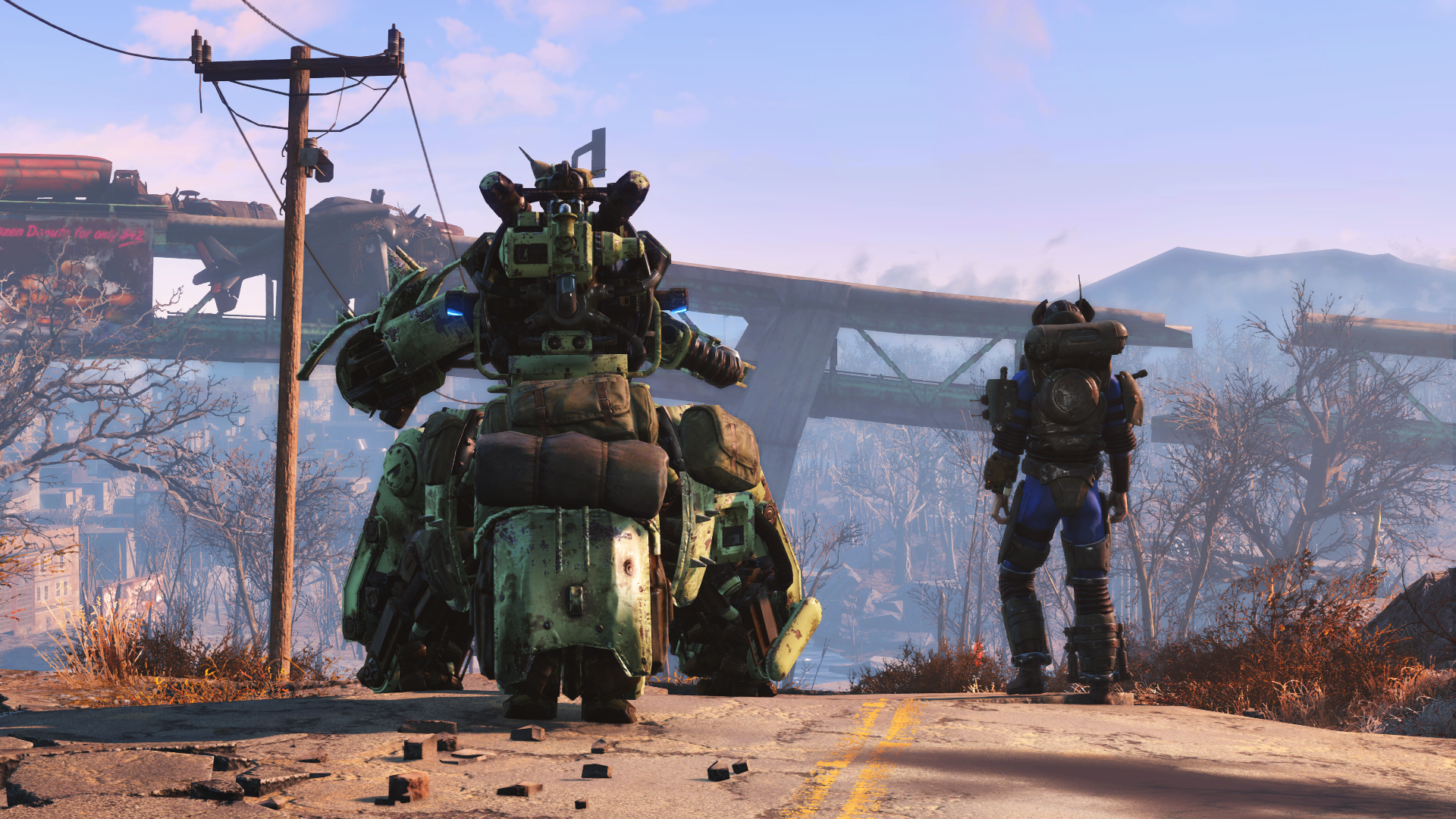 Fallout 4 Automatron pre-release 1