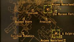 Pioneer Cafe loc map