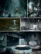Railroad HQ underground concept art