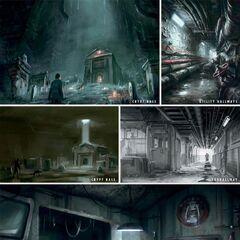 Underground concept art