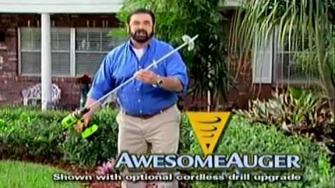 The Awesome Auger (Billy Mays Full Length Commercial) R.I.P. Billy Mays