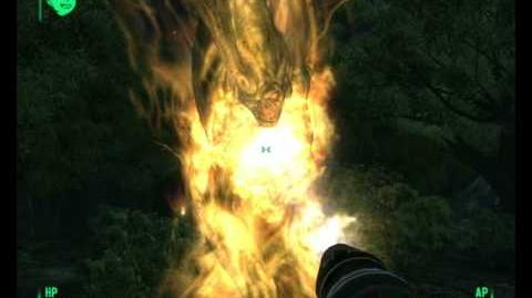Fallout 3 - harold is on fire!