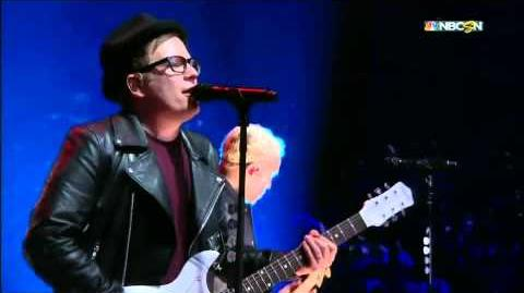 "Fall Out Boy Preforms ""Centuries"" and ""My Songs Know What You Did In The Dark (Light Em Up) at the 2015 NHL All Star Game"