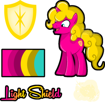 Mlp oc light shield reference by mychelle-d98a6js