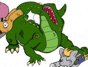 Radigator being bucked