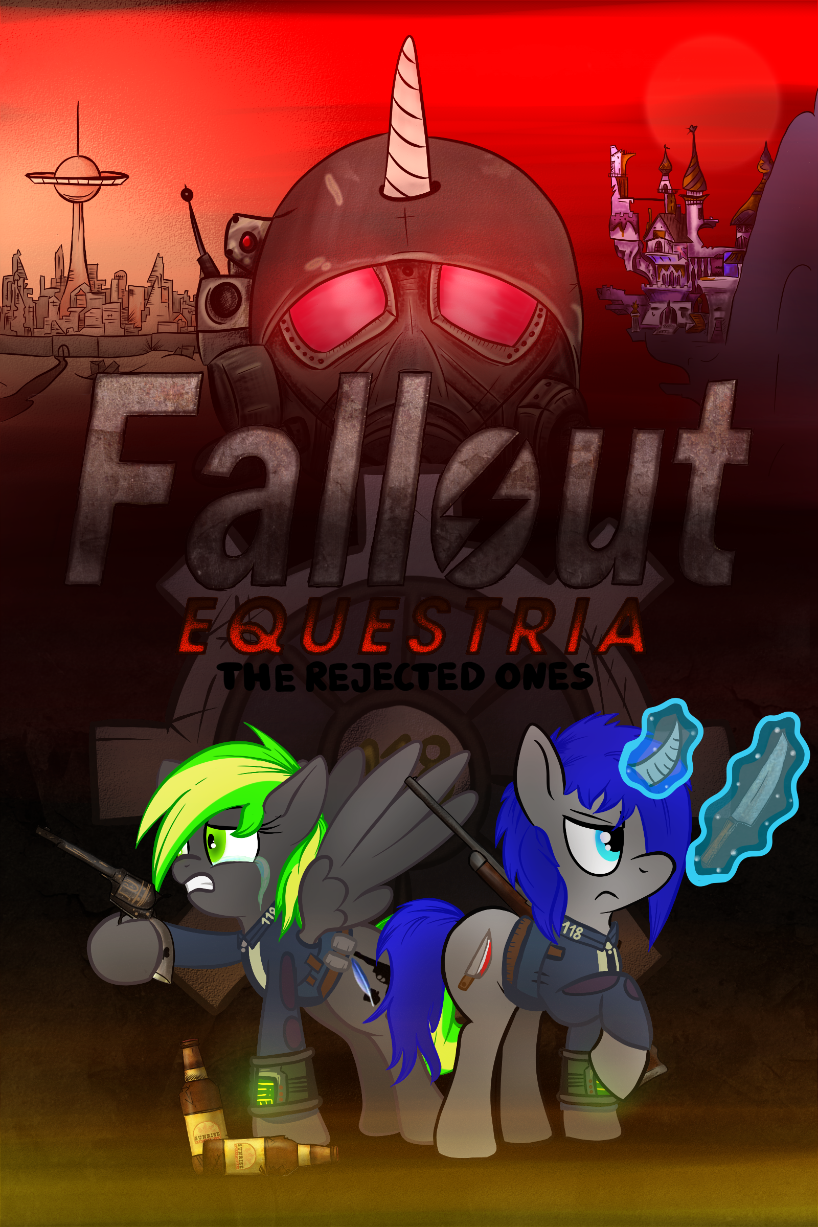 Fallout Equestria The Rejected Ones Fallout Equestria