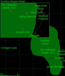 Территория Вечнодикого леса