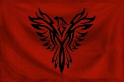 Crimson Empire Flag