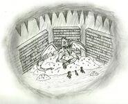 Отряд Литлпип в пещере у Спайка