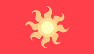 Флаг Эквестрии (принцесса Селестия)