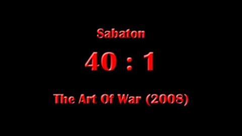 Sabaton - 40 1 (Lyrics English & Deutsch)