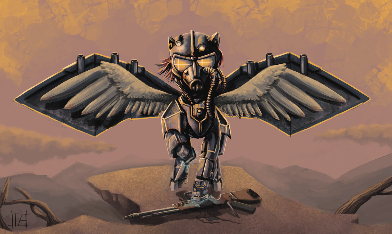 Wraithwing Outlaw Fallout Equestria Wiki Fandom