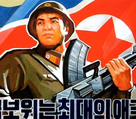 File:Images-of-North-Korea-soldier-and-flag-top-625x544.jpg.jpeg