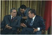Brezhnev and nixon