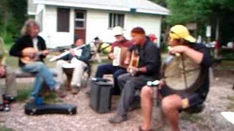 Voyageur Canoe Traveling Minstrel Show 5